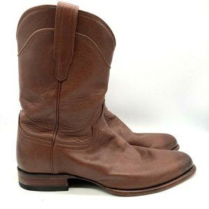 Tecovas Western Cowboy Boots Leather Brown 13D